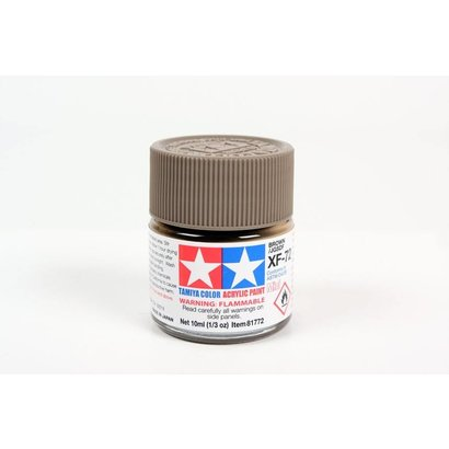 TAM - Tamiya 865- 81772 Acrylix Mini XF72  Brown 10ml