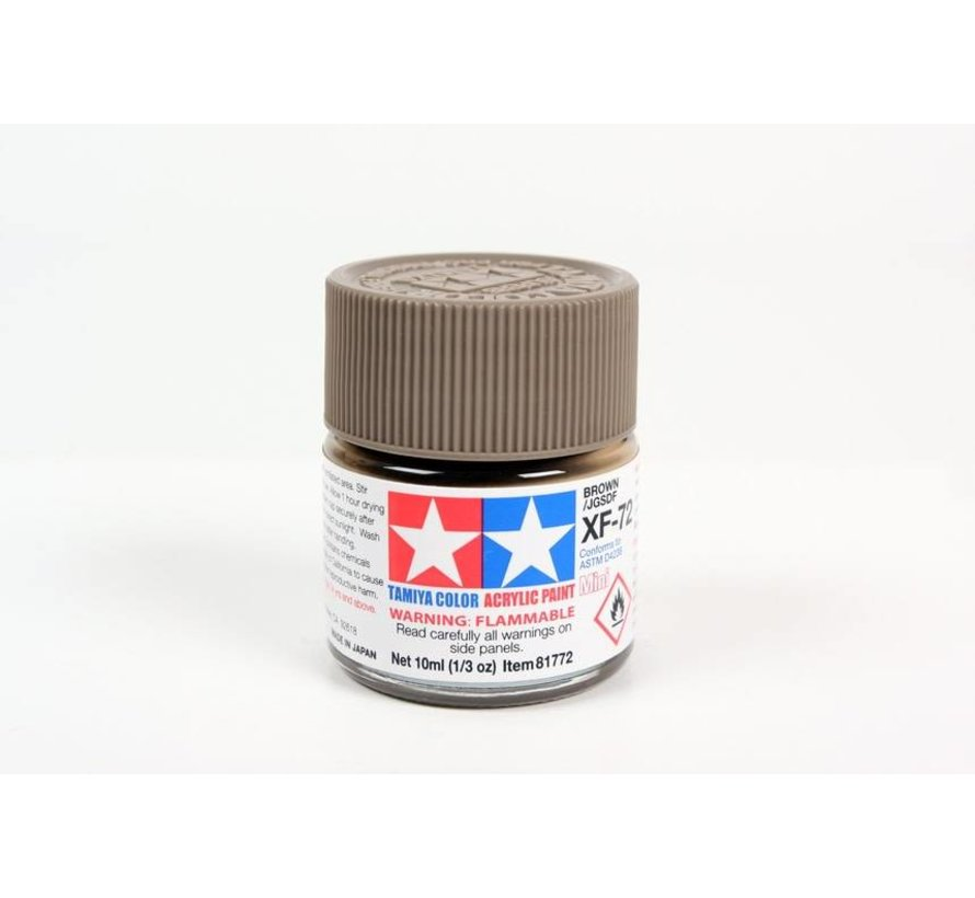 81772 Acrylix Mini XF72  Brown 10ml