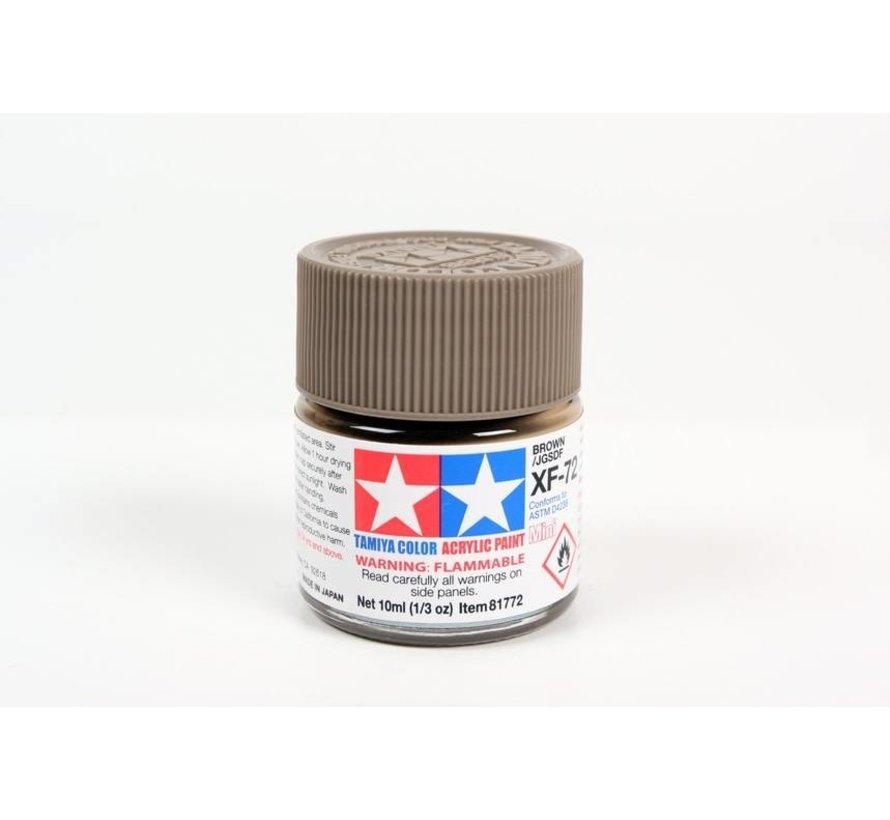 81772 Acrylix Mini XF72  Brown 10ml