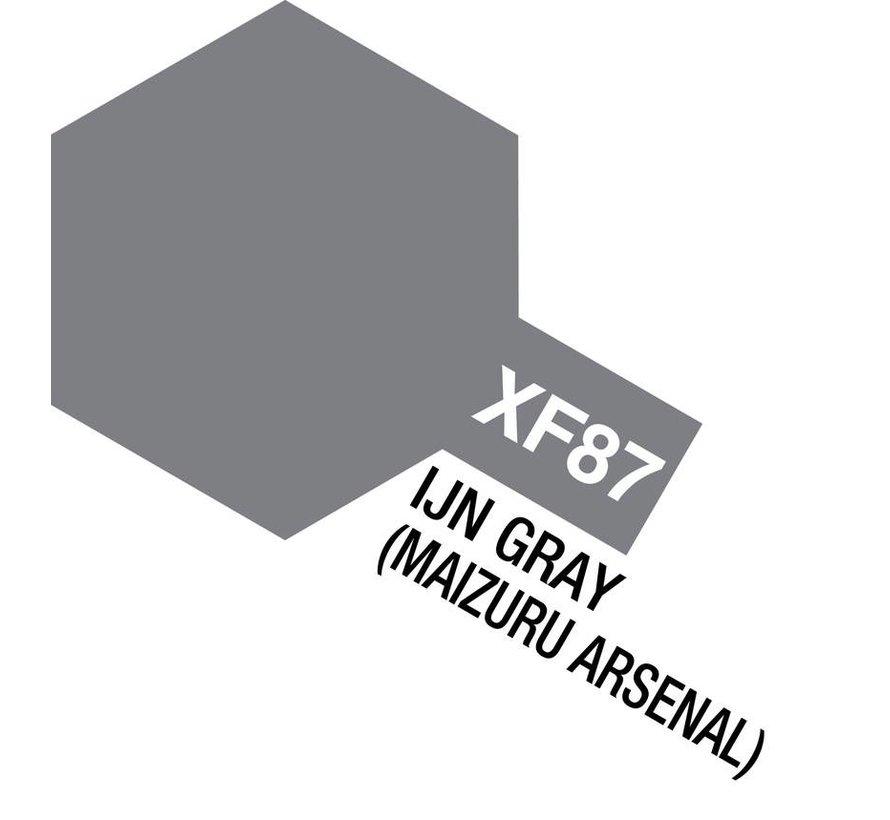 81787 Acrylic Mini XF-87 IJN Gray (Maizuru Arsenal) 10ml