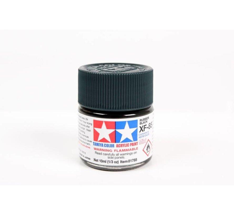 81785 Acrylic Mini XF85 Rubber Blk 10ml Bottle
