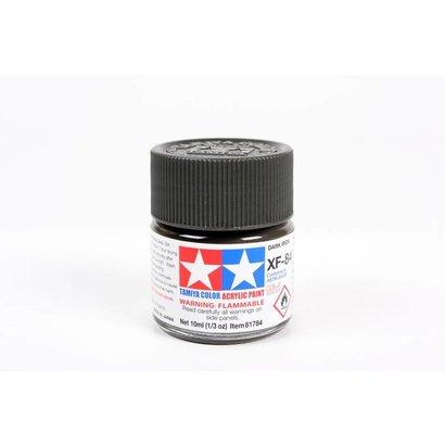 TAM - Tamiya 865- 81784 Acrylic Mini XF84 Dark Iron 10ml Bottle