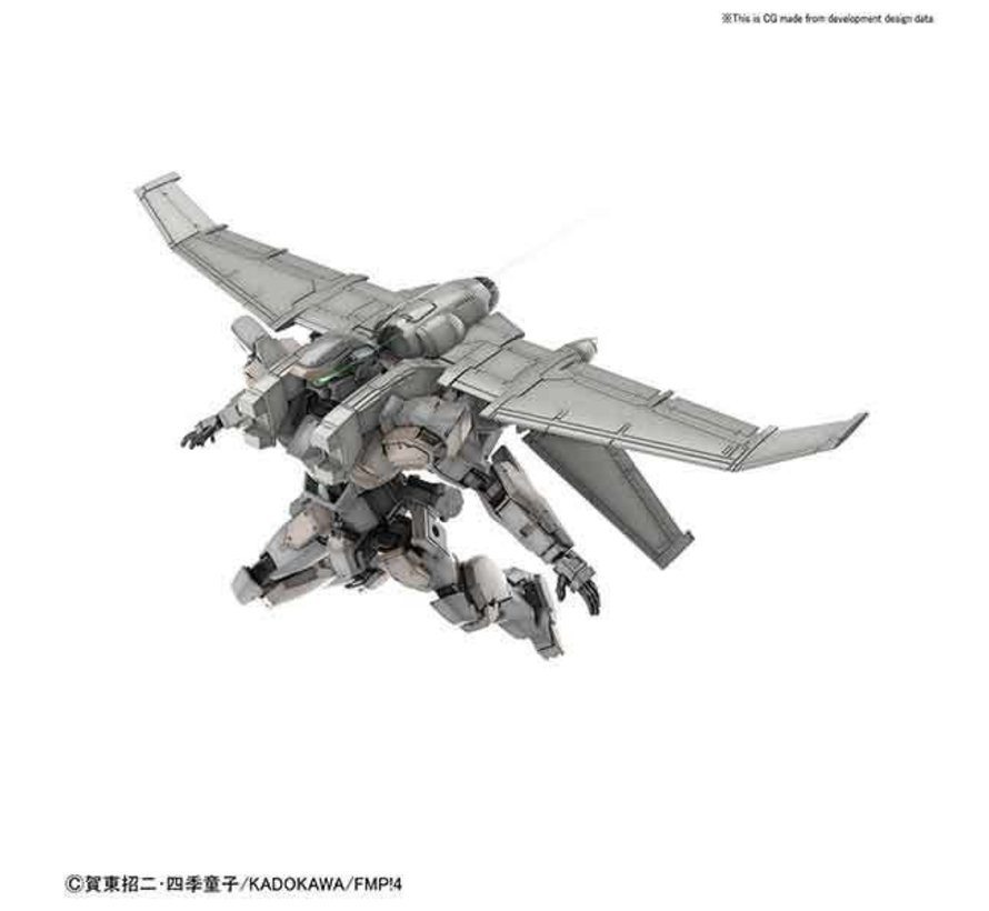 "5056756 Arbalest Ver.IV (Emergency Deployment Booster Equipment Ver.) ""Full Metal Panic! Invisible Victory"", Bandai HG 1/60"