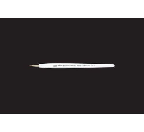 TAM - Tamiya 865- 87173 Modeling Pointed Brush PRO II Extra Fine