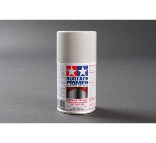 Tamiya (TAM) 865- 87026 Spray Surface Primer/Plastic Metal