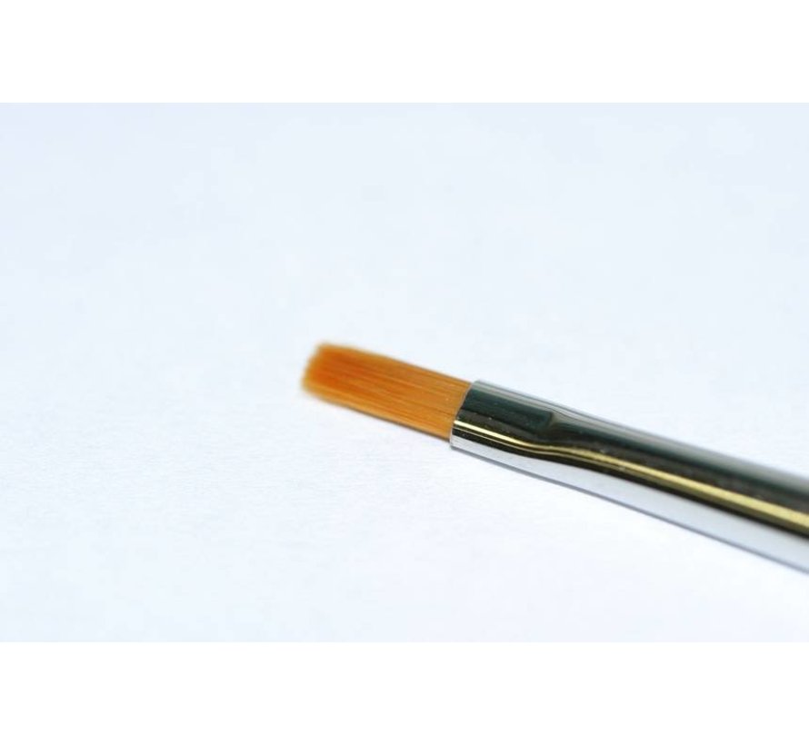 87046 High Finish Flat Brush No. 0