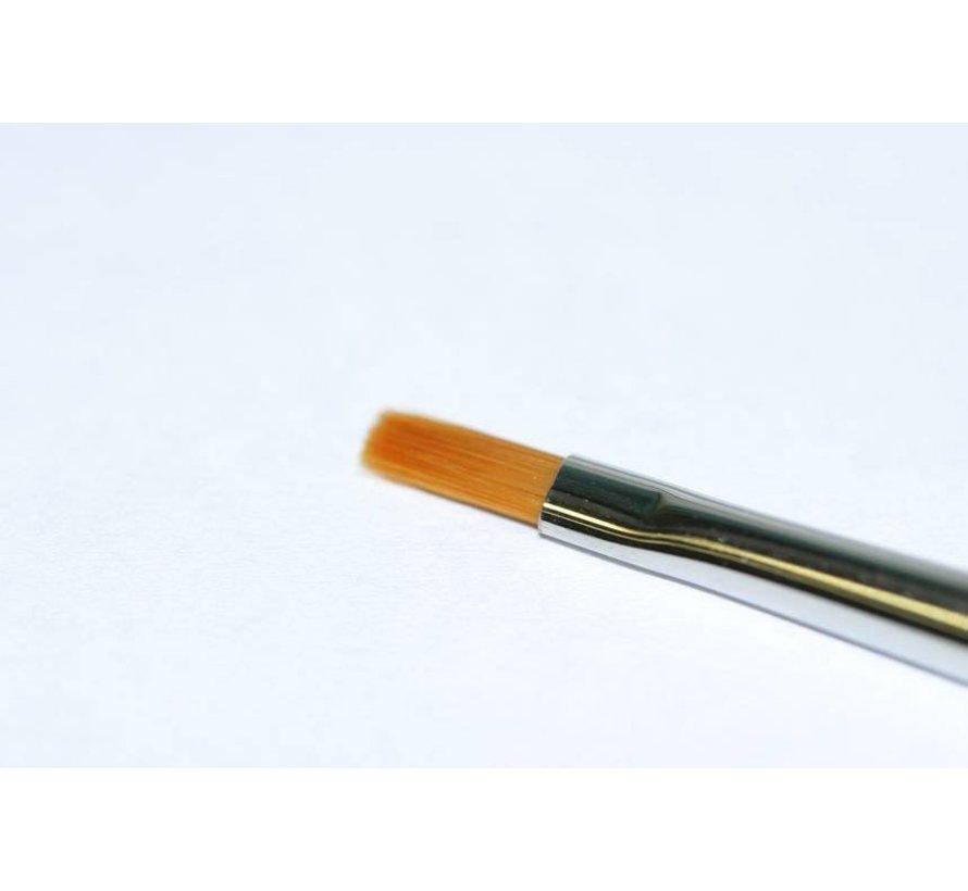 87046 High Finish Flat Brush No. 0