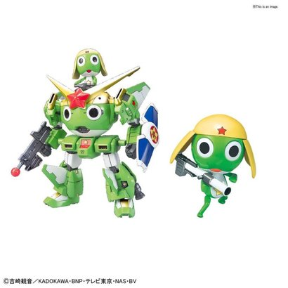 "BANDAI MODEL KITS 5057072 Keroro Gunso and Keroro Robo Gunso Anniversary Special Ver. ""Keroro"", Bandai Keroro Plamo Collection"