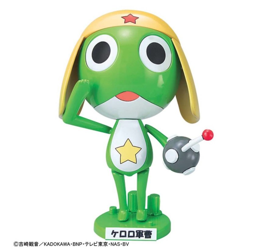 "5057071 20th Keroro Gunso Anniversary Package Edition ""Keroro"", Bandai Keroro Plamo Collection"