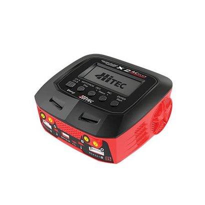 HRC-Hitec 44270 X2 AC Plus Black Edition Multi-Function AC/DC Battery Charger