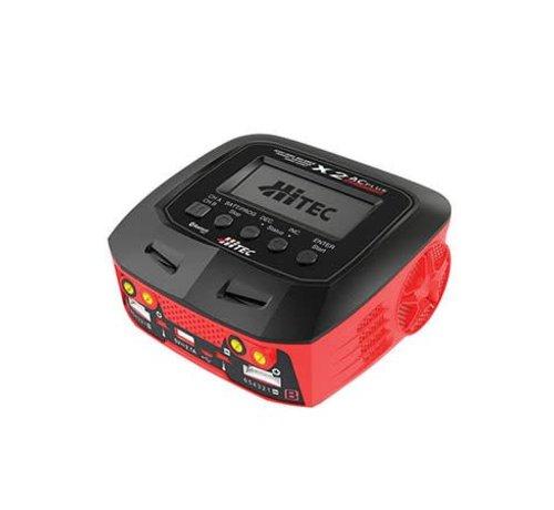 Hitec (HRC) 44270 X2 AC Plus Black Edition Multi-Function AC/DC Battery Charger