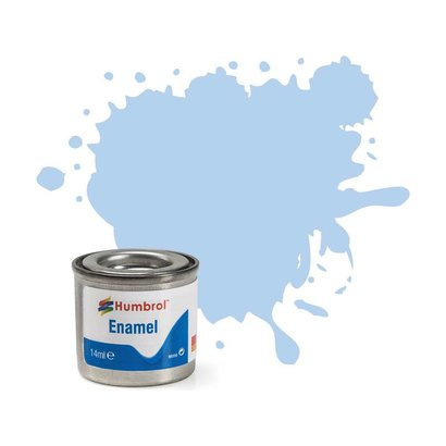 HMB - HUMBROL AA0044 - Pastel Blue - Enamel, 14ML, Matt, Shade 044