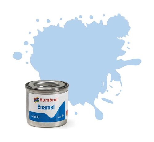Humbrol - HMB AA0044 - Pastel Blue - Enamel, 14ML, Matt, Shade 044
