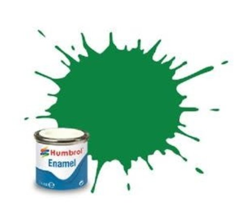 Humbrol - HMB AA0028 - Emerald Green - Enamel, 14ML, Gloss, Shade 002