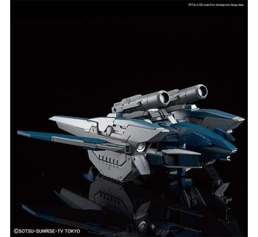 """5056749 #27 Gundam Zerachiel """"Build Divers"""", Bandai HGBD 1/144"""
