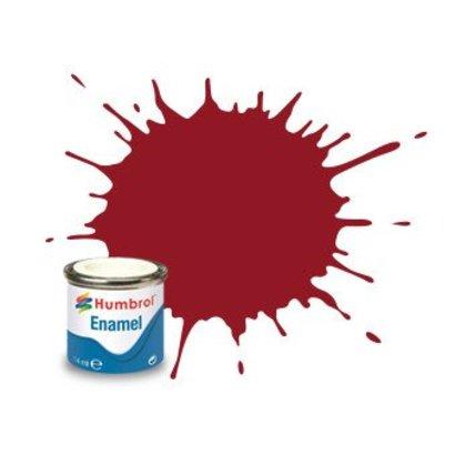 HMB - HUMBROL AA0223 - Crimson - Enamel, 14ML, Gloss, Shade 020