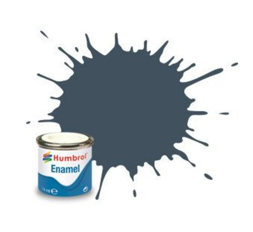 Humbrol - HMB AA0112 - Field Blue - Enamel, 14ML, Matt, Shade 112