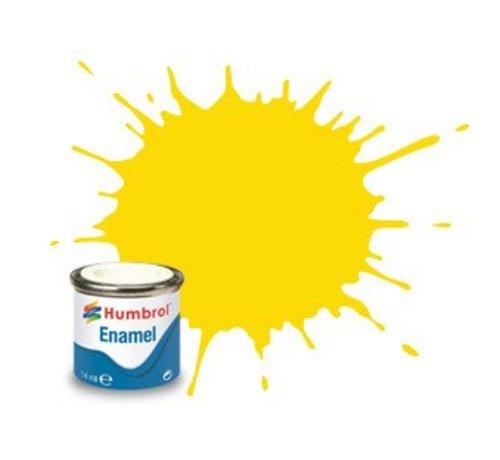 Humbrol - HMB AA0761 - Yellow - Enamel, 14ML, Gloss, Shade 069
