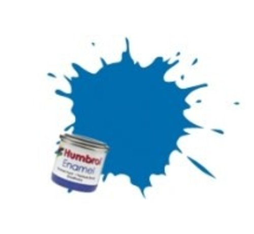 Humbrol - HMB AA0566 - Baltic Blue - Enamel, 14ML, Metallic, Shade 052