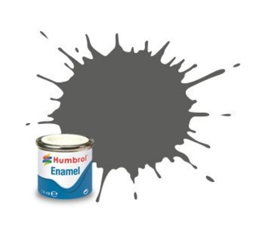 Humbrol - HMB AA0343 - Slate Grey - Enamel, 14ML, Matt, Shade 031