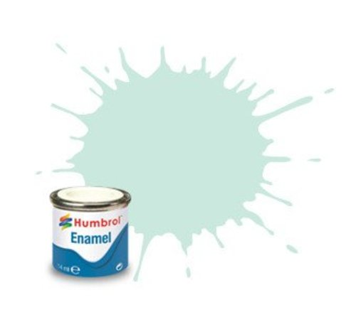 Humbrol - HMB AA0254 - Duck Egg Blue - Enamel, 14ML, Matt, Shade 023