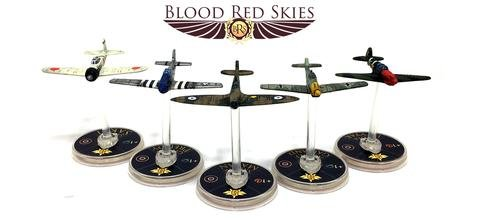 Blood Red Skies tabletop miniatures game by Warlord Games