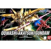 BANDAI MODEL KITS #40 Owashi Akatsuki Gundam