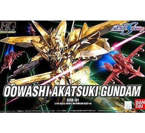 "BANDAI MODEL KITS 141910 #40 Owashi Akatsuki Gundam ""Gundam SEED Destiny"" Bandai HG SEED"