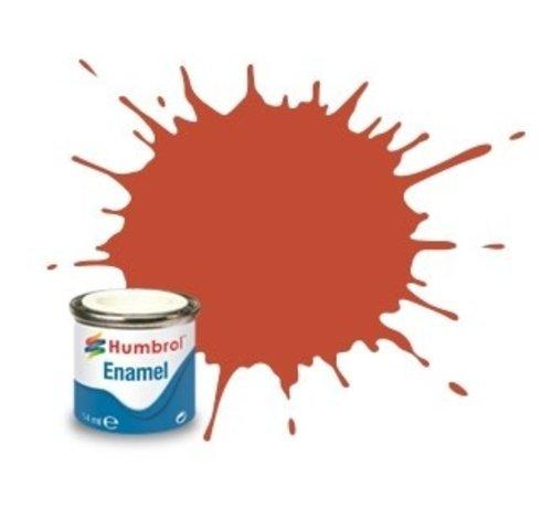 Humbrol - HMB AA1105 - Red Brown - Enamel, 14ML, Matt, Shade 100