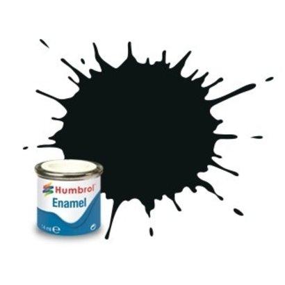 HMB - HUMBROL AA1002 - Black Green - Enamel, 14ML, Matt, Shade 091