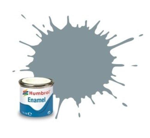 Humbrol - HMB AA0967 - Steel Grey - Enamel, 14ML, Matt, Shade 087