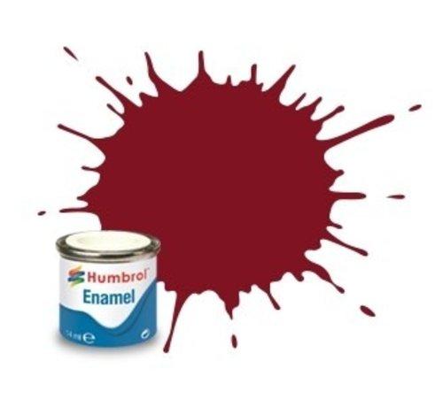 Humbrol - HMB AA1465 - Brown - Enamel, 14ML, Satin, Shade 133