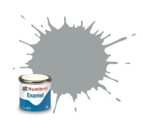Humbrol - HMB AA1420 - US Gull Grey - Enamel, 14ML, Satin, Shade 129