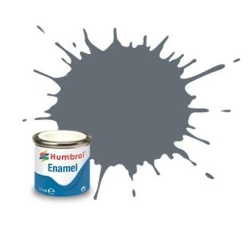 Humbrol - HMB AA1359 - Extra Dark Sea Grey - Enamel, 14ML, Satin, Shade 123