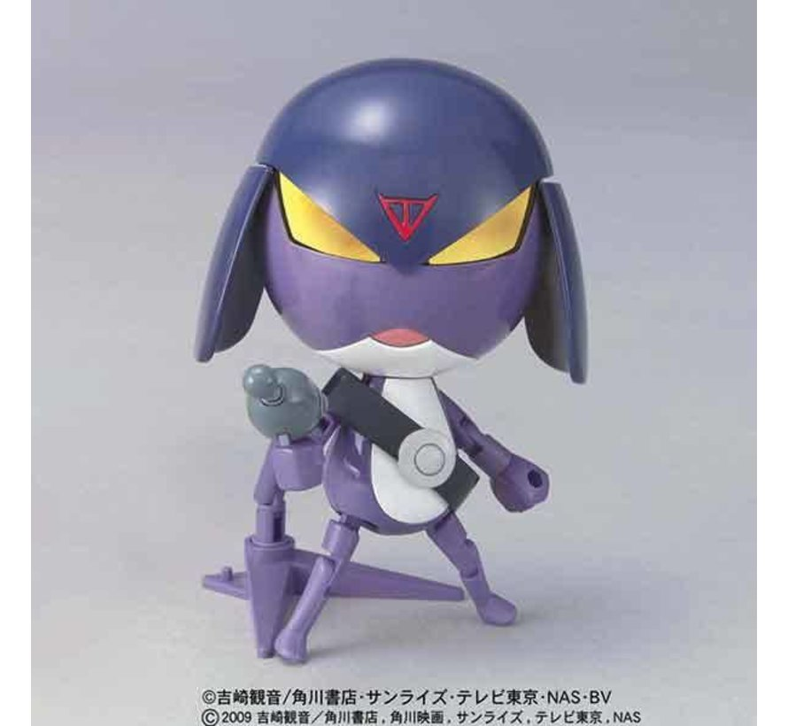 5057443 Lieutenant Garuru Keroro  Bandai Keroro Plamo Collection