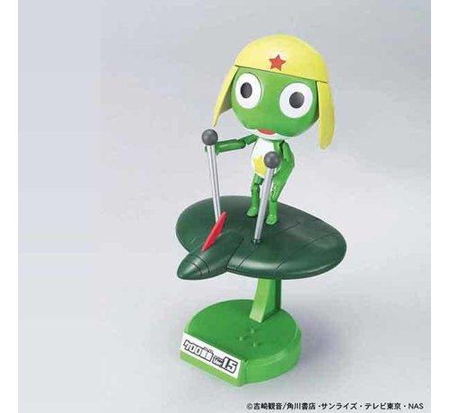 BANDAI MODEL KITS 5057431 Keroro Gunso Ver 1.5 - Flying Board Keroro  Bandai Keroro Plamo Collection