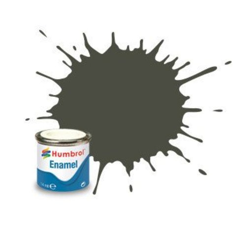 Humbrol - HMB AA2253 - RLM83 Dunkel-Grun - Enamel, 14ML, Matt, Shade 253