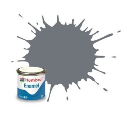Humbrol - HMB AA1780 - Dark Sea Grey - Enamel, 14ML, Satin, Shade 164