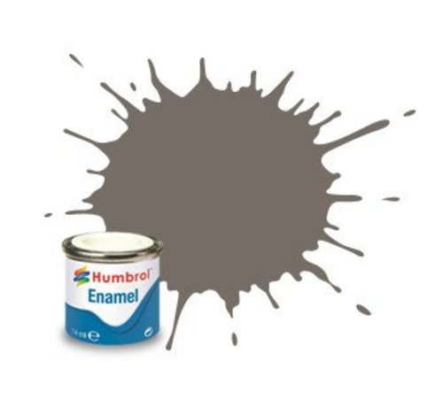 Humbrol - HMB AA7224 - Dark Slate Grey - Enamel, 14ML, Matt, Shade 224