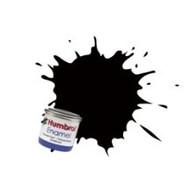 HMB - HUMBROL AA6392 - Metallic Black - Enamel, 14ML, Metallic, Shade 201