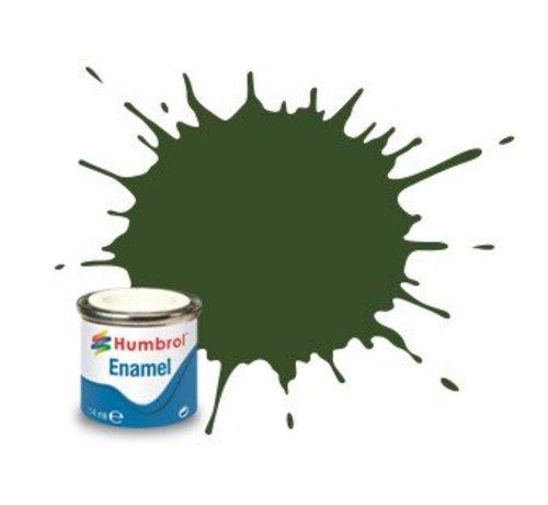Humbrol - HMB AA2242 - RLM 71 Dunkelgrun  - 14ml Enamel Paint, Matt, Shade 242