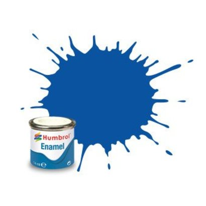 HMB - HUMBROL AA0151 French Blue Enamel, 14ML, Gloss, Shade 014