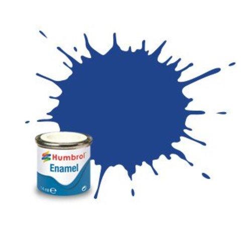 Humbrol - HMB AA0271 Blue Enamel, 14ML, Matt, Shade 025
