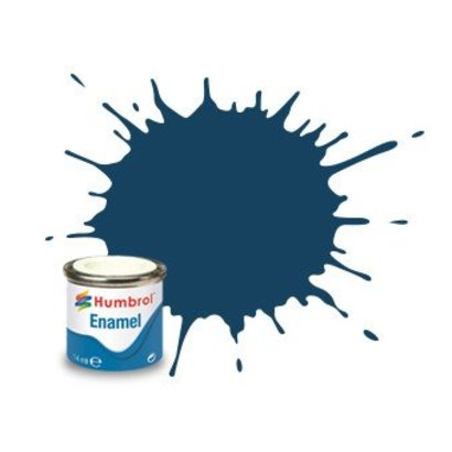 HMB - HUMBROL AA1153 - Oxford Blue - Enamel, 14ML, Matt, Shade 104