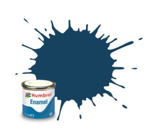 Humbrol - HMB AA1153 - Oxford Blue - Enamel, 14ML, Matt, Shade 104