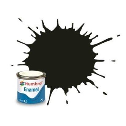 HMB - HUMBROL AA1777 - Dark Green - Enamel, 14ML, Satin, Shade 163