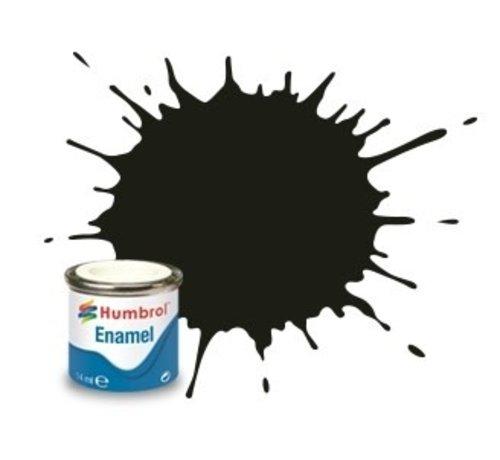 Humbrol - HMB AA1777 - Dark Green - Enamel, 14ML, Satin, Shade 163