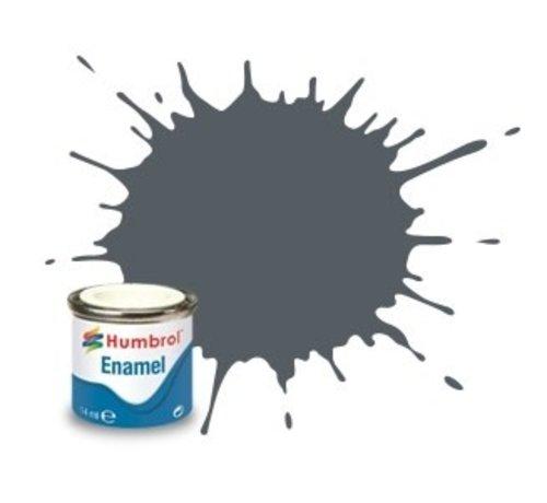 Humbrol - HMB AA1376 - US Dark Grey - Enamel, 14ML, Satin, Shade 125