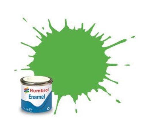 Humbrol - HMB AA7081 - Fluorescent Signal Green - Enamel, 14ML, Gloss, Shade 208