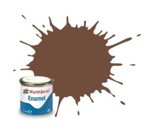 Humbrol - HMB AA1081 - Chocolate  - 14ml Enamel Paint, MATT, Shade 098